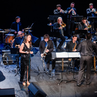 """Miracles"" album promotion with HRT Jazz Orchestra @ Lisinski Hall, Zagreb 2019"